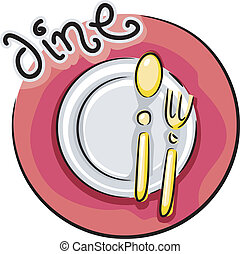 Comedor de icono