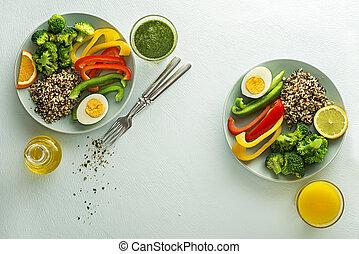 comida de ensalada