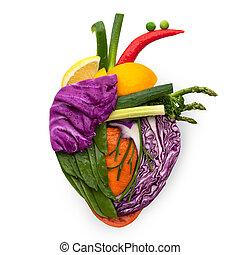 Comida para el corazón.