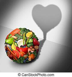 Comida saludable para el corazón