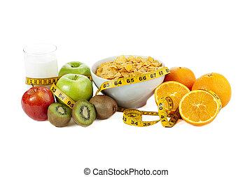Comidas y bebida nutritivas