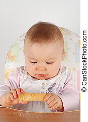Comiendo bebé