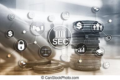 Comité de intercambio de seguridad SEC. Agencia independiente del gobierno federal de los Estados Unidos.