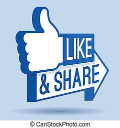 Como y compartir el símbolo