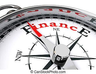 Compás conceptual de finanzas