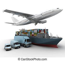 Compañía de transporte