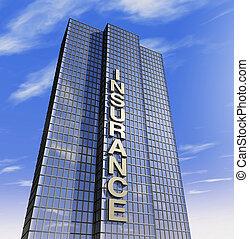 compañía, headquartered, seguro
