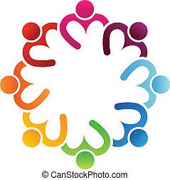 Compartir el corazón 8 logo