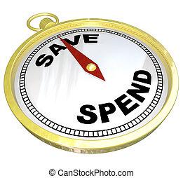 Compass, liderando el camino a salvar el gasto