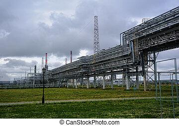 Complejo gasquímico en producción de polipropileno
