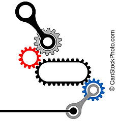 Complejo industrial mecánico de Gearbox