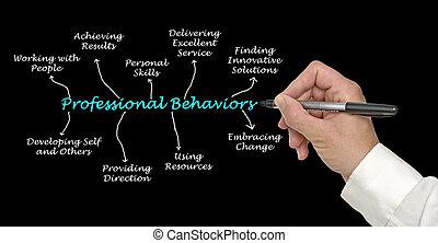 Componentes de comportamientos profesionales