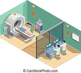 Composición de examen médico