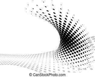 Composición de fondo, plantilla web (Medtone)