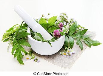 Composición de spa Herbal
