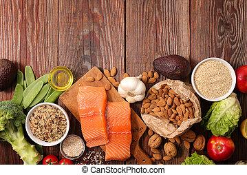 Composición saludable de alimentos