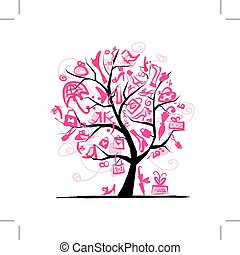 Comprando el concepto de árbol para tu diseño