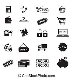 Comprando iconos