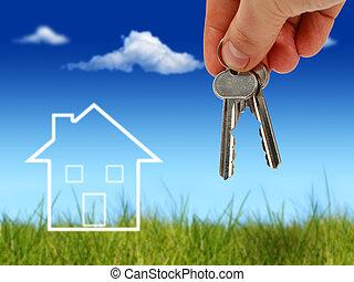 Comprar bienes raíces.