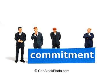 compromiso, empresa / negocio