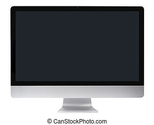 computadora computadora personal, liso, monitor