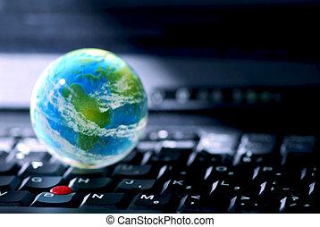 computadora, empresa / negocio, internet