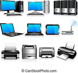 Computadoras, tecnología de impresoras