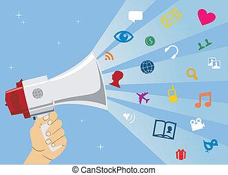 Comunicación de medios sociales