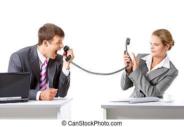 Comunicación de negocios
