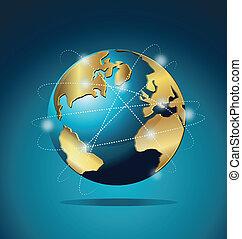 Comunicación mundial de comercio