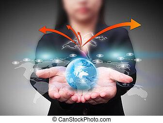 Comunicación tecnológica, concepto de red social