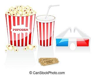 concept., cine, elements.
