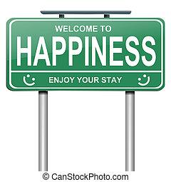 concept., felicidad