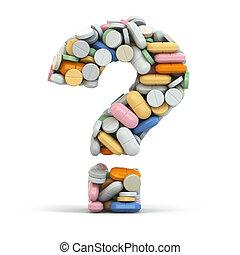 concept., question., médico, píldoras