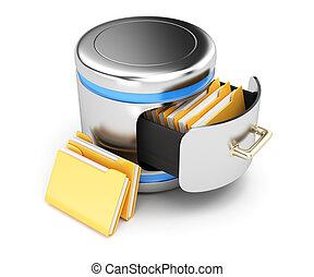 concepto, almacenamiento, base de datos
