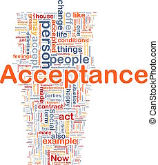 Concepto de aceptación