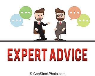 Concepto de asesoramiento experto