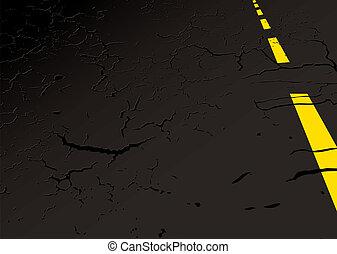 Concepto de carretera