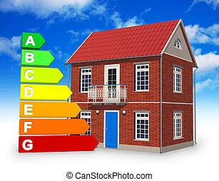 Concepto de construcción ecológica