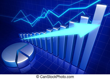 Concepto de crecimiento económico