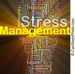 Concepto de dirección de estrés