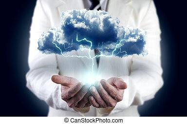 Concepto de energía, energía de medio ambiente