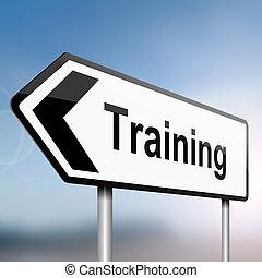Concepto de entrenamiento.