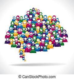 Concepto de estrategia de marketing en línea