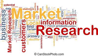 Concepto de investigación de mercado
