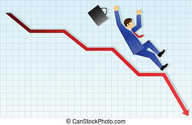 Concepto de negocios, fracaso