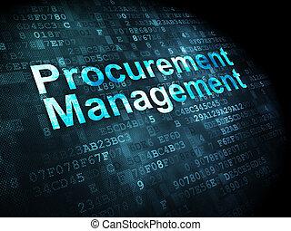 Concepto de negocios: gestión de adquisición de antecedentes digitales