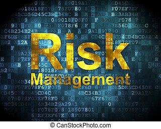 Concepto de negocios: gestión de riesgo en antecedentes digitales