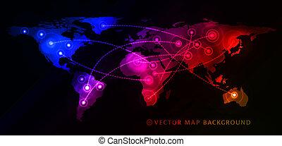 Concepto de negocios globales