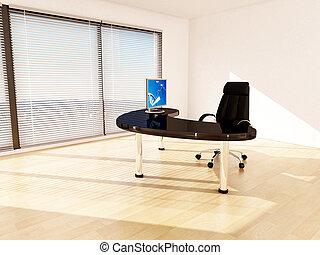 Concepto de negocios. Oficina de gerentes